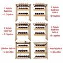 Cave à vin de vieillissement - 182 bouteilles - ARTEVINO_OXM1T182PPD