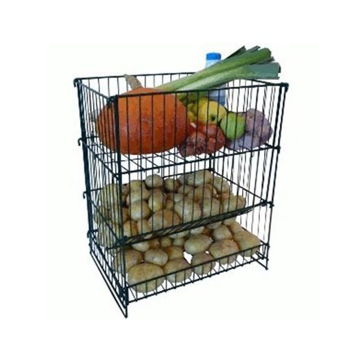 casier m tal resserre l gumes et pommes de terre ref sor5. Black Bedroom Furniture Sets. Home Design Ideas